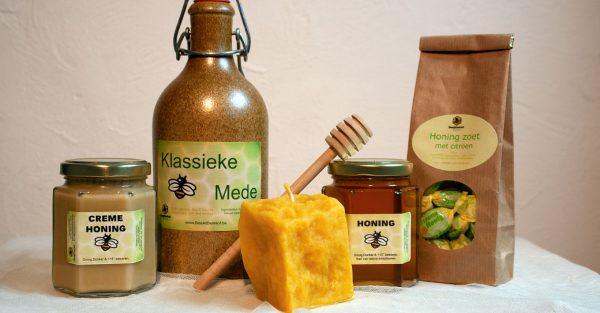 Geschenkpakket met honing