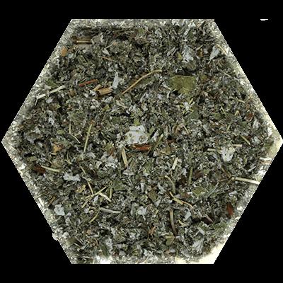 Framboos blad gedroogde losse kruiden
