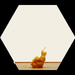 bijenwaskaars bee at den hof